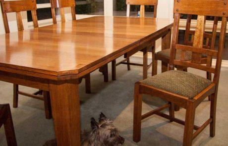 dining table restoration